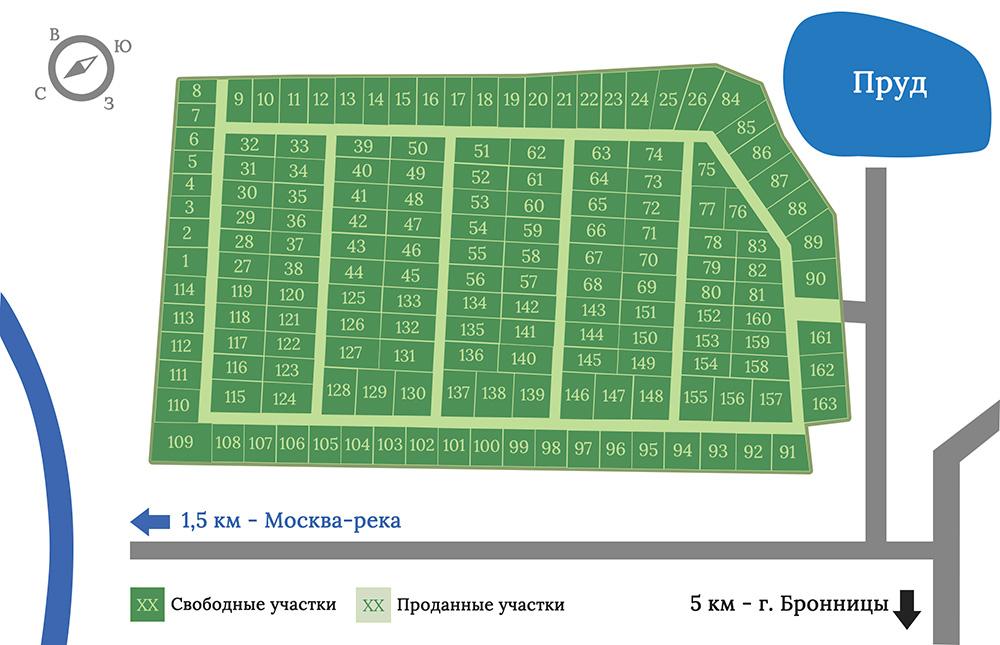 Генплан Морозово лайф